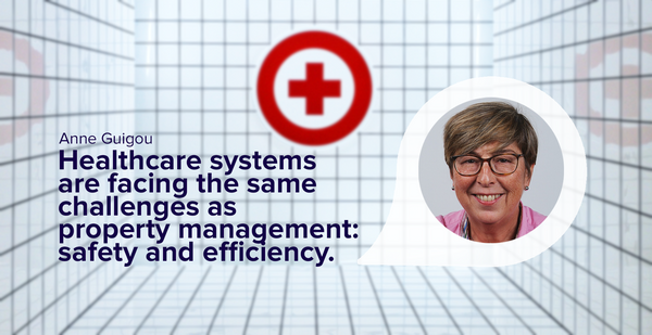 Healthcare systems facing the same challenges as property management: safety and efficiency.